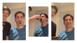 Geoff Soul patch shave