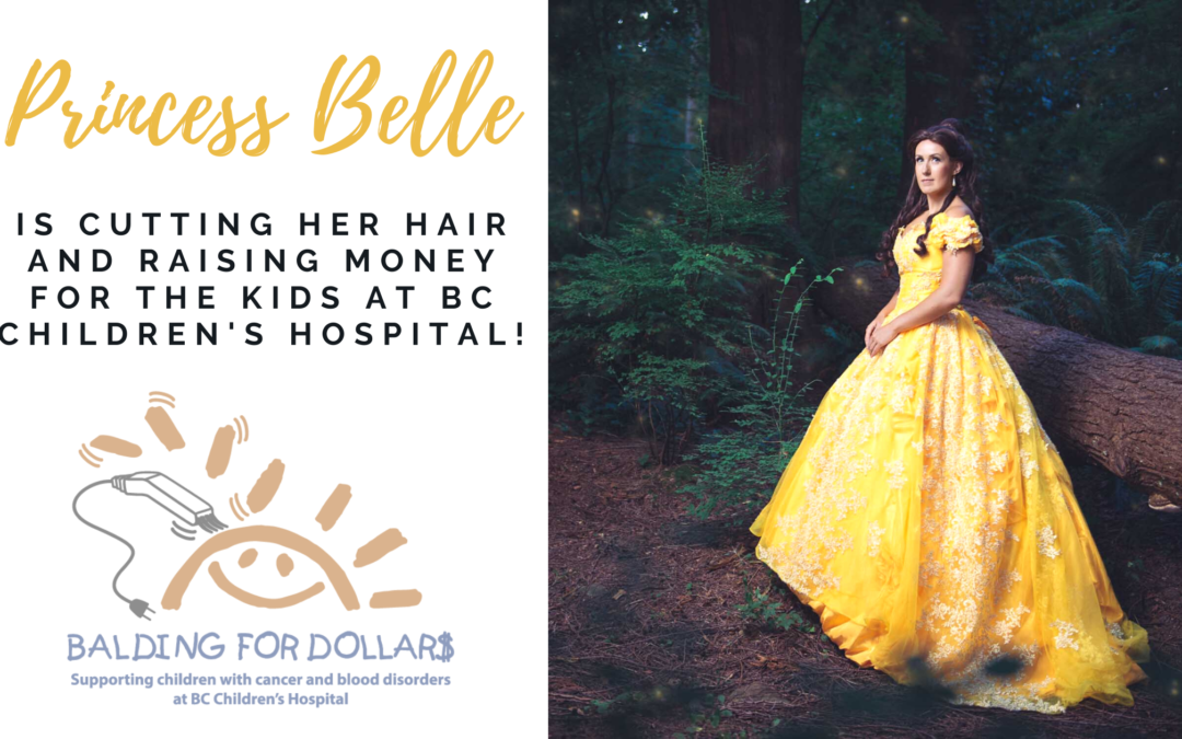 Belle is Cutting Her Hair for Balding for Dollars!