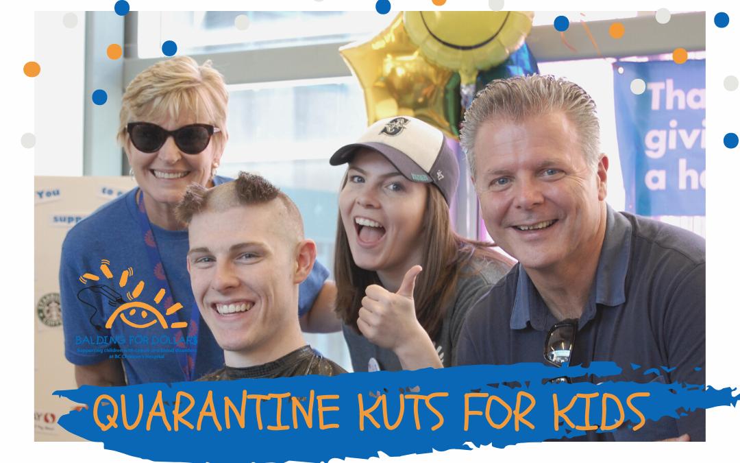 Quarantine Kuts For Kids Campaign 2020