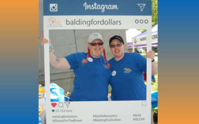 Stephanie Larson- Balding for Dollars has brought me hope