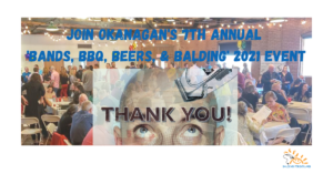 Okanagan's 7th Annual 'Bands, BBQ, Beers, & Balding' B4$ Event