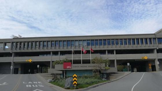 Simon Fraser University building front