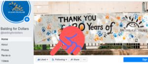 follow like facebook banner