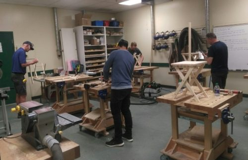 lee valley tools woodworking event